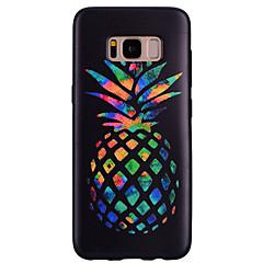 Χαμηλού Κόστους Galaxy S6 Edge Θήκες / Καλύμματα-tok Για Samsung Galaxy Με σχέδια Πίσω Κάλυμμα Φρούτα Μαλακή Σιλικόνη για S8 S8 Plus S7 edge S7 S6 edge S6