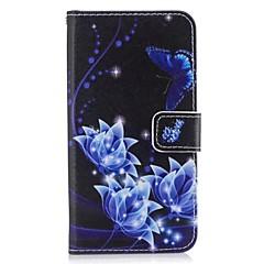Недорогие Чехлы и кейсы для Huawei серии Y-Кейс для Назначение Huawei P9 Lite Huawei Huawei P8 Lite Y5 III(Y5 2017) P8 Lite Бумажник для карт Кошелек со стендом Флип Чехол Бабочка