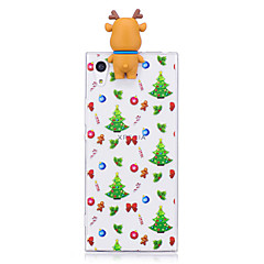 Case For Sony Xperia XA1 Ultra Xperia XA1 Pattern DIY Back Cover Christmas 3D Cartoon Soft TPU for Sony Xperia X Sony Xperia XA Sony