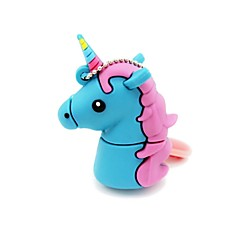 16gb usb 2.0 desen animat unicorn cal usb flash drive disc drăguț stick de memorie stilou unitate pen drive
