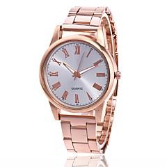 preiswerte Tolle Angebote auf Uhren-Herrn / Damen Armbanduhr Chinesisch Armbanduhren für den Alltag Metall Band Charme / Modisch Silber / Gold / Rotgold