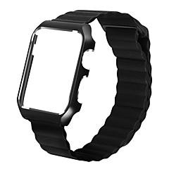 Nézd Band mert Apple Watch Series 3 Apple Watch Series 2 Apple Watch Series 1 Apple Csuklópánt Bőr hurok Fém Bőr