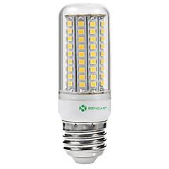 5W E14 G9 GU10 B22 E26 E26/E27 LED-maissilamput Upotettu jälkiasennus 102 ledit SMD 2835 Vedenkestävä Koristeltu Lämmin valkoinen Kylmä