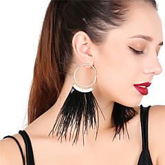 Γυναικεία Κρεμαστά Σκουλαρίκια Κρίκοι Σέξι Υπερμεγέθη Φτερό Κράμα Φτερό Κοσμήματα Για Πάρτι Αργίες
