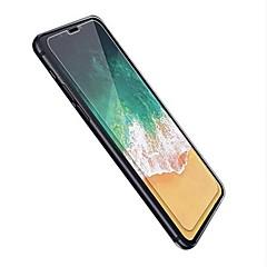 Недорогие Защитные пленки для iPhone X-Защитная плёнка для экрана Apple для iPhone X Закаленное стекло 2 штs Взрывозащищенный Уровень защиты 9H HD