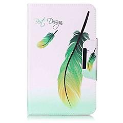 tasca modello portafoglio con portafoglio magnetico con telaio in plastica per la scheda galassia samsung 8.0 t377 t377v tablet tablet da