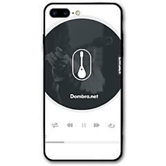 Недорогие Кейсы для iPhone 5-Кейс для Назначение iPhone X iPhone 8 С узором Задняя крышка Панк Мягкий TPU для iPhone X iPhone 8 Plus iPhone 8 iPhone 7 Plus iPhone 7