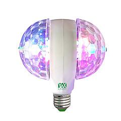 1개 6W E27 LED 글로브 전구 6 LED가 고성능 LED 장식 RGB 400lm 2800-12000