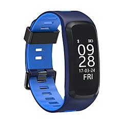f4 inteligentna bransoleta ip68 ciśnienie krwi tlen tętna monitora inteligentny zespół dla ios / android