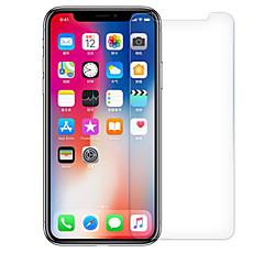 Недорогие Защитные пленки для iPhone X-Защитная плёнка для экрана Apple для iPhone X Закаленное стекло 1 ед. Защита от царапин 2.5D закругленные углы Уровень защиты 9H HD