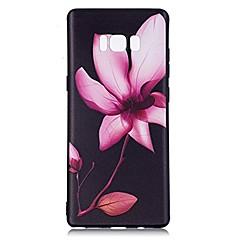 tanie Galaxy Note Edge Etui / Pokrowce-Kılıf Na Wzór Etui na tył Kwiaty Miękkie TPU na Note 8 Note 5 Edge Note 5 Note 4 Note 3 Lite Note 3 Note 2 Note Edge Note