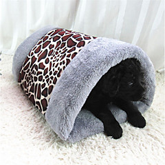 Dog Bed Pet Liners Leopard Leopard Coffee Gray