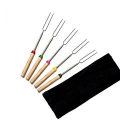 abordables Instrumentos de Dibujo y Escritura-utensilios de cocina Acero Inoxidable En forma de U Tenedor de Especialidades 1pcs