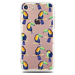 Назначение iPhone X iPhone 8 Чехлы панели Прозрачный С узором Задняя крышка Кейс для Плитка Мягкий Термопластик для Apple iPhone X iPhone