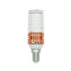 preiswerte LED-Birnen-BRELONG® 1 Stück 12W 1000 lm E14 LED Mais-Birnen 60 Leds SMD 2835 Warmes Weiß Weiß Dual Light Source Farbe Wechselstrom 220-240V