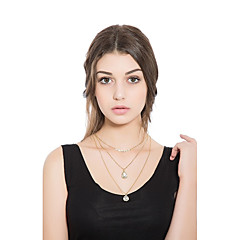 Women's Choker Necklaces Animal Shape Alloy Elegant Jewelry For Casual