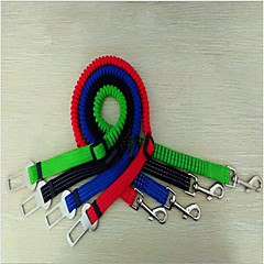 Dog Car Seat Harness/Safety Harness Reflective Solid Polyester Black Red Green