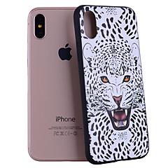 Назначение iPhone X iPhone 8 Чехлы панели С узором Задняя крышка Кейс для Животное Мягкий Силикон для Apple iPhone X iPhone 8 Plus iPhone