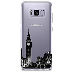 Χαμηλού Κόστους Galaxy S6 Θήκες / Καλύμματα-tok Για S8 S7 Εξαιρετικά λεπτή Διαφανής Με σχέδια Πίσω Κάλυμμα Θέα στην πόλη Μαλακή TPU για S8 S8 Plus S7 edge S7 S6 edge plus S6 edge S6