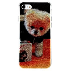 Case For Apple iPhone 7 iPhone 7 Plus Shockproof IMD Back Cover Dog Glitter Shine Hard PC for iPhone 7 Plus iPhone 7 iPhone 6s Plus
