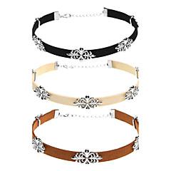 Жен. Ожерелья-бархатки В форме цветка Ткань Сплав Elegant Сексуальные платья Бижутерия Назначение Для вечеринок Повседневные