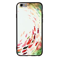 Кейс для Назначение Apple iPhone 7 iPhone 7 Plus Защита от удара Рельефный Задняя крышка Мультипликация Мягкий TPU для iPhone 7 Plus