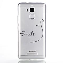 Maska Pentru Asus Model Carcasă Spate Cuvânt / expresie Moale TPU pentru Asus Zenfone 3 Max ZC520TL