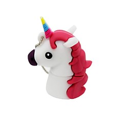 4Gb USB 2.0 Cartoon Unicorn Horse Usb Flash Drive Disk Cute Memory Stick Pen Drive Gift Pen Drive