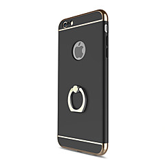 Назначение iPhone X iPhone 8 Чехлы панели Защита от удара Покрытие Кольца-держатели Задняя крышка Кейс для Сплошной цвет Твердый PC для