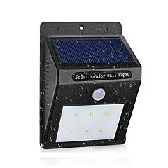 tanie Kinkiety zewnętrzne-led lampa słoneczna wodoodporny czujnik ruchu pir słoneczna moc światła ogród led światło słoneczne na zewnątrz abs kinkiet