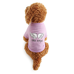 Χαμηλού Κόστους -Σκύλος Φανέλα Ρούχα για σκύλους Αναπνέει Γράμμα & Αριθμός Στολές Για κατοικίδια