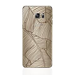 Χαμηλού Κόστους Galaxy S6 Edge Θήκες / Καλύμματα-tok Για Samsung Galaxy S8 Plus S8 Με σχέδια Πίσω Κάλυμμα Γραμμές / Κύματα Μαλακή TPU για S8 Plus S8 S7 edge S7 S6 edge plus S6 edge S6