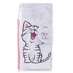 Case For Sony Xperia XA1 Xperia E5 Card Holder Wallet with Stand Flip Pattern Full Body Cat Hard PU Leather for Sony Xperia XZ1 Sony