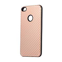 Кейс для Назначение P8 Lite (2017) P10 Lite Защита от удара Задняя крышка Полосы / волосы Сплошной цвет Твердый Металл для Huawei P10