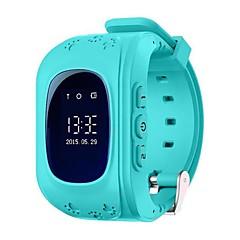 billige Elegante ure-q50g gps tracker ur børn sikkerhed overvågning bærbar GPS intelligent smart watch telefon indbygget batteri