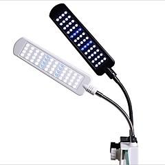 أحواض السمك ديكور حوض السمك ضوء LED لون متعدد 360 الدوارة مصباح LED 110V-220VV