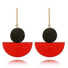 preiswerte Ohrringe-Damen Tropfen-Ohrringe - Böhmische, Süß Schwarz / Rot / Grün Für Geschenk / Verabredung