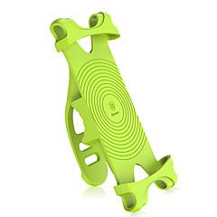 abordables Monturas y Soportes-Montura de Teléfono para Bicicleta Portátil, Alta elasticidad Ciclismo / Bicicleta Gel de Sílice Negro / Naranja / Verde - 1 pcs
