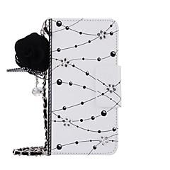 お買い得  Huawei Pシリーズケース/ カバー-ケース 用途 Huawei社P9 Huawei社P9プラス P10 Plus P10 カードホルダー ウォレット スタンド付き フリップ 磁石バックル パターン DIY フルボディーケース フラワー ハード PUレザー のために P10 Plus P10 Huawei P9