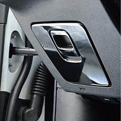 自動車の センタースタックカバー DIYカーインテリア 用途 ジープ 全年式 Cherokee Stailess鋼