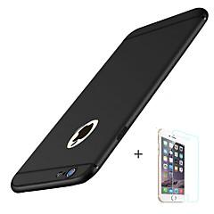 abordables Novedades-Funda Para Apple iPhone 8 iPhone 8 Plus Congelada Funda Trasera Color sólido Suave TPU para iPhone X iPhone 8 Plus iPhone 8 iPhone 7 Plus