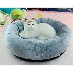 economico -Gatto Cane Letti Animali domestici Cuscino&Cuscini Tinta unita Morbido Lavabile Grigio Per animali domestici