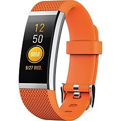 billige Elegante ure-ny pasform hr2 smart bluetooth armbånd se sport vandtæt hjertefrekvens søvn overvågning information opkald påmindelse for android og ios