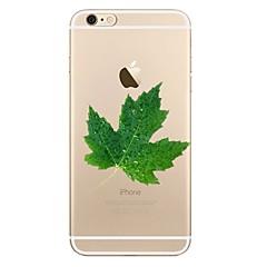 Кейс для Назначение iPhone X iPhone 8 Прозрачный С узором Задняя крышка дерево Цветы Мягкий TPU для iPhone X iPhone 8 Plus iPhone 8
