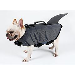 Hund Redningsvest Hundetøj Afslappet / Sportslig Solid Grå Gul Kostume For kæledyr
