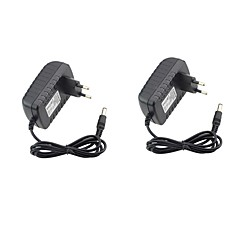 Недорогие LED аксессуары-2шт 12v 2a адаптер питания 100v-240v переменного тока 12v 2a постоянного тока с разъемом питания в коммутаторе eu / us plug для полосок