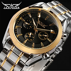저렴한 -Jaragar 남성용 캐쥬얼 시계 패션 시계 드레스 시계 손목 시계 오토메틱 셀프-윈딩 스테인레스 스틸 밴드 캐쥬얼 멋진