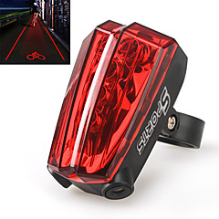 Luci bici Luce posteriore per bici Laser LED Ciclismo Laser AAA Lumens Batteria Ciclismo
