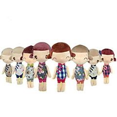 preiswerte -Plüschtiere Puppen Spielzeuge Zeichentrick Mode Hochzeit Niedlich Für die Kinder Weich Hochzeit Dekorativ Cartoon Design Mode Mädchen 1