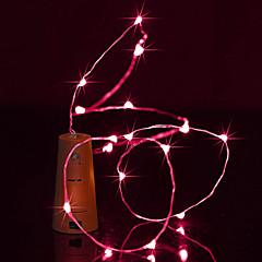 brelong 1,5m 15led vinflaske kobberstreng lys til jul halloween fest dekorationer